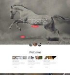 Responsive JavaScript Animated Template #56066