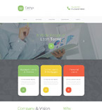 Responsive JavaScript Animated Template #56075