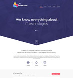 IT Support Company Drupal Template