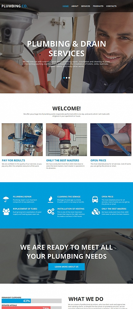Most Popular Maintenance Services website inspirations at your coffee break? Browse for more Moto CMS HTML #templates! // Regular price: $139 // Sources available:<b>Sources Not Included</b> #Most Popular #Maintenance Services #Moto CMS HTML
