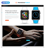 Promotional Product Landing Page Template