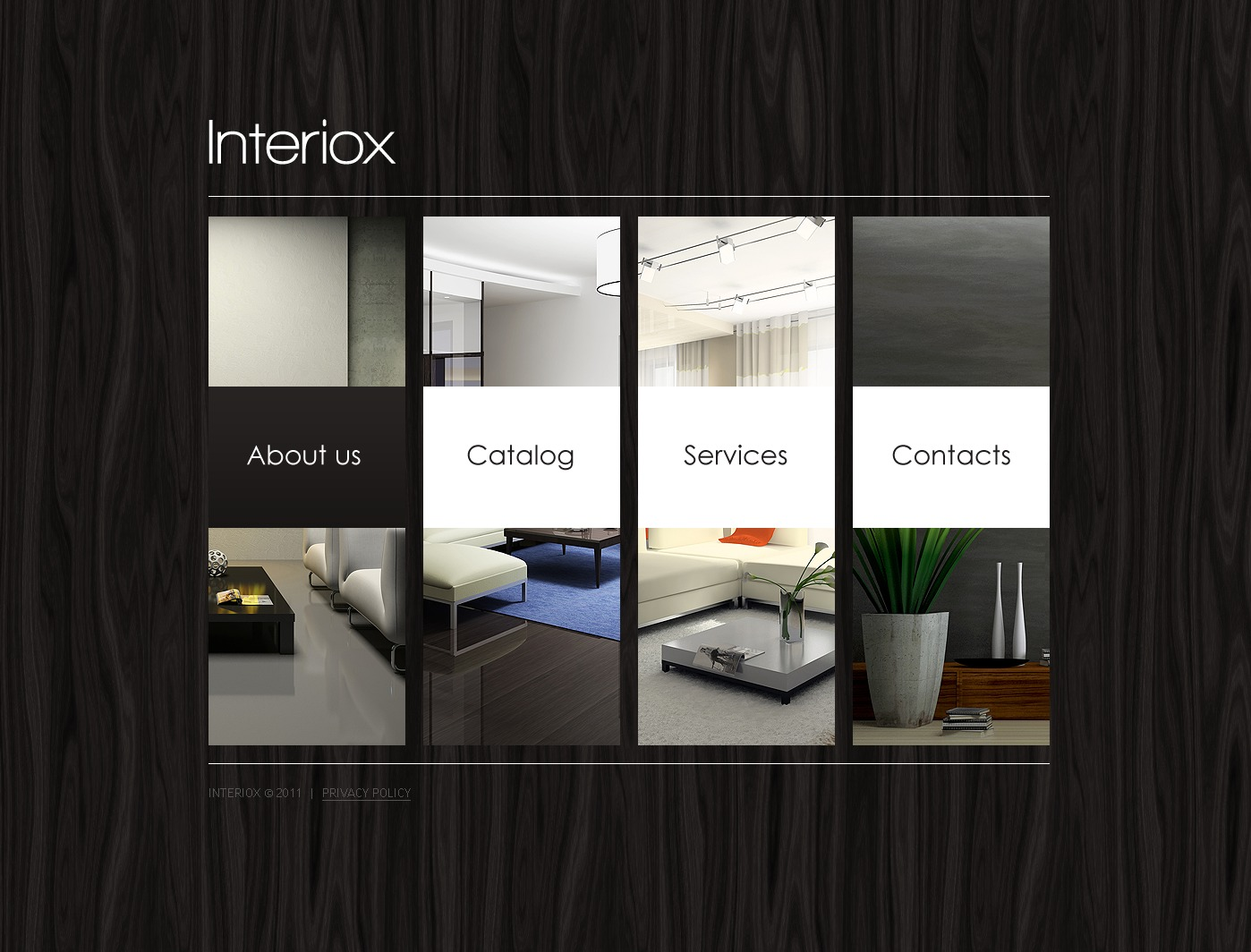 Дизайн интерьера шаблон