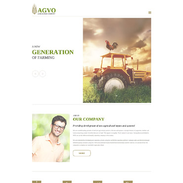Website Template # 57546