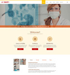 Science Laboratory Joomla Template