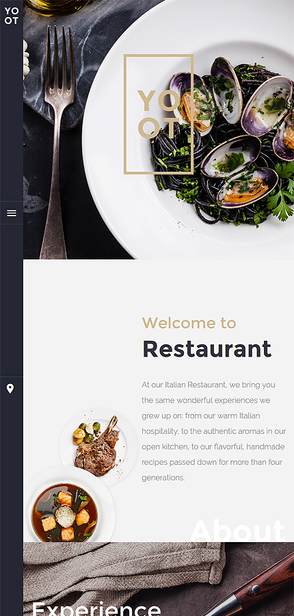 Cafe and Restaurant Most Popular website inspirations at your coffee break? Browse for more Joomla #templates! // Regular price: $75 // Sources available: .PSD, .PHP #Cafe and Restaurant #Most Popular #Joomla