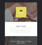 Therapeutic Massage Landing Page Template