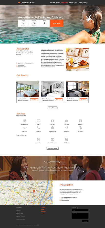 Hotels #Most Popular #Responsive JavaScript Animated / Template #57610