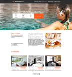 Responsive JavaScript Animated Template #57610