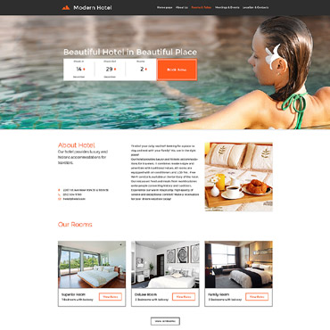 Website Template # 57610