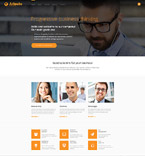 Responsive JavaScript Animated Template #57618
