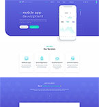 Responsive JavaScript Animated Template #57621