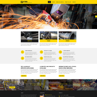 Website Template # 57623