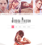 Responsive JavaScript Animated Template #57644