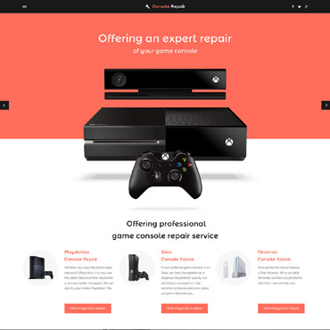Website Template # 57647