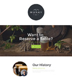 Irish Pub Landing Page Template