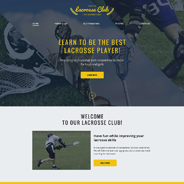 Website Template # 57662