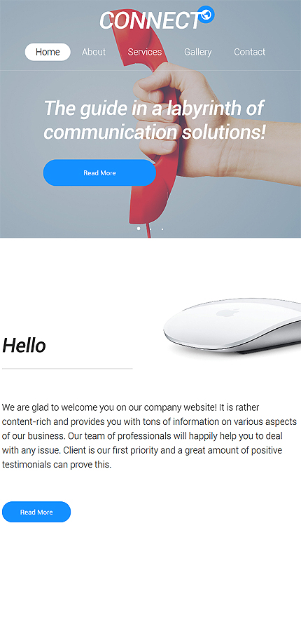 Communications Most Popular website inspirations at your coffee break? Browse for more Bootstrap #templates! // Regular price: $75 // Sources available: .HTML,  .PSD #Communications #Most Popular #Bootstrap