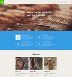 Responsive JavaScript Animated Template #57691