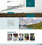 Responsive JavaScript Animated Template #57707