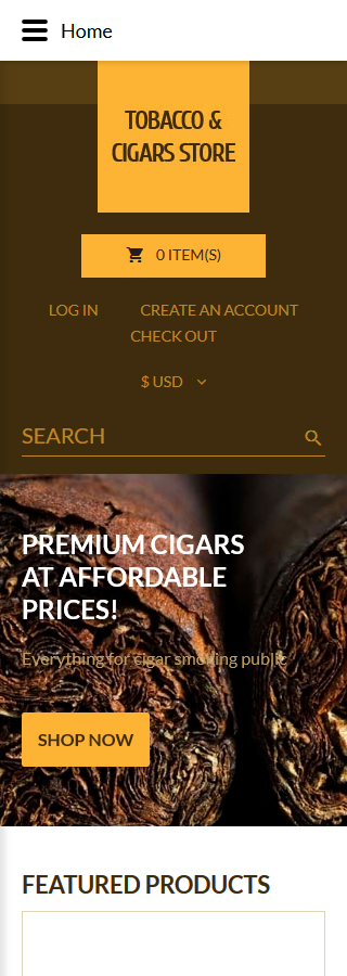 Tobacco Templates website inspirations at your coffee break? Browse for more VirtueMart #templates! // Regular price: $139 // Sources available: .HTML,  .PSD, .PHP, .XML, .CSS, .JS #Tobacco Templates #VirtueMart