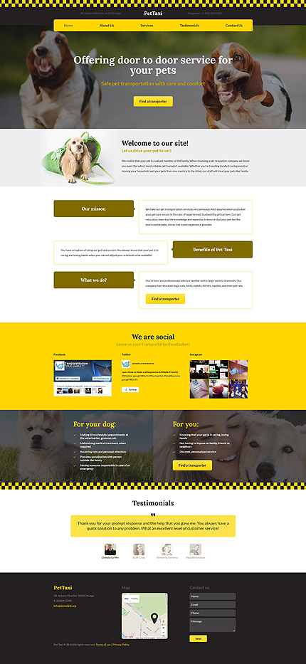 Transportation website inspirations at your coffee break? Browse for more Responsive JavaScript Animated #templates! // Regular price: $69 // Sources available: .HTML,  .PSD #Transportation #Responsive JavaScript Animated