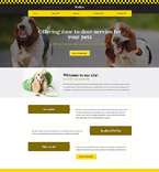 Responsive JavaScript Animated Template #57727