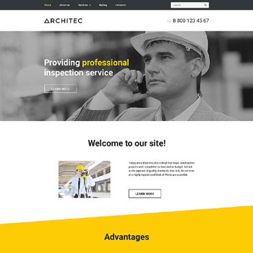 Website Template # 57730