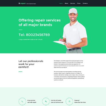 Website Template # 57731