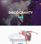 Disco Club Joomla Template