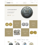 Numismatic Store PrestaShop Template