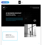Quality Business Landing Page Template