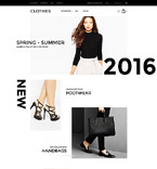 Clothes Magento Template