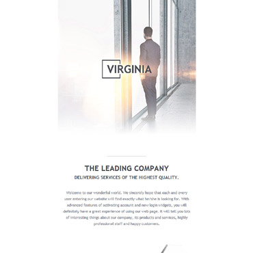 Newsletter Template # 57790