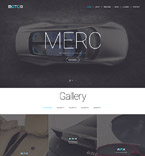 Responsive JavaScript Animated Template #57792