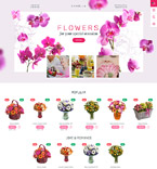 Flower Store PrestaShop Template