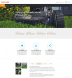 Responsive JavaScript Animated Template #57823
