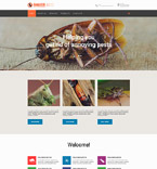 Responsive JavaScript Animated Template #57830