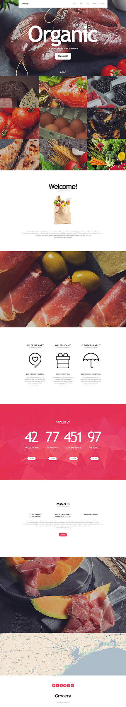 Food & Drink Most Popular website inspirations at your coffee break? Browse for more Bootstrap #templates! // Regular price: $75 // Sources available: .HTML,  .PSD #Food & Drink #Most Popular #Bootstrap