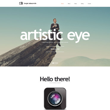 Website Template # 57853