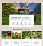 Responsive JavaScript Animated Template #57855