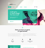 Responsive JavaScript Animated Template #57876