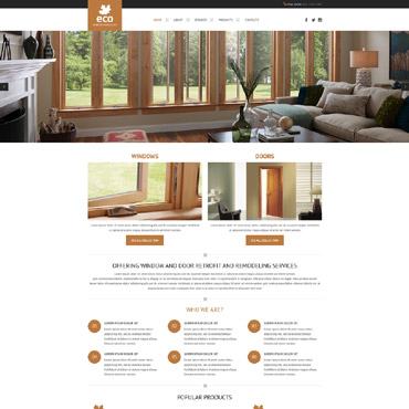 Website Template # 57898