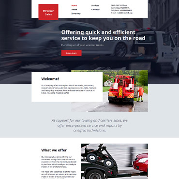 Website Template # 57910