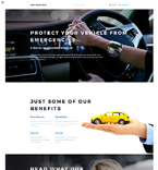 Car Insurance Joomla Template