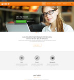 Responsive JavaScript Animated Template #57933