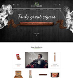 Cigars PrestaShop Template