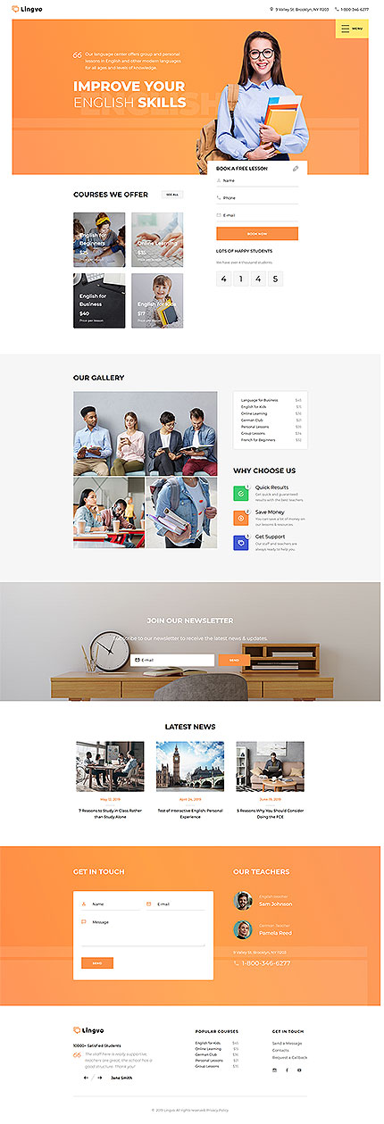 Education Most Popular website inspirations at your coffee break? Browse for more Responsive JavaScript Animated #templates! // Regular price: $69 // Sources available: .HTML,  .PSD #Education #Most Popular #Responsive JavaScript Animated