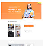 Responsive JavaScript Animated Template #57938