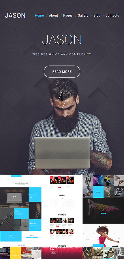 Web Design website inspirations at your coffee break? Browse for more Joomla #templates! // Regular price: $75 // Sources available: .PSD, .PHP #Web Design #Joomla