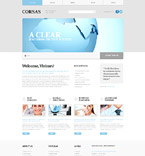 Responsive JavaScript Animated Template #57956